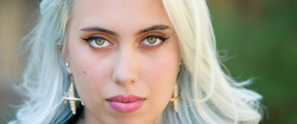 Portrait photographer in bay area captures exotic eyes
