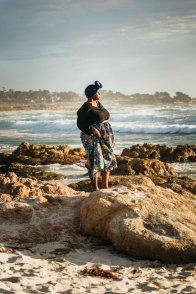 Family photography Bay Area San Jose Pacific Grove ocean beach portrait