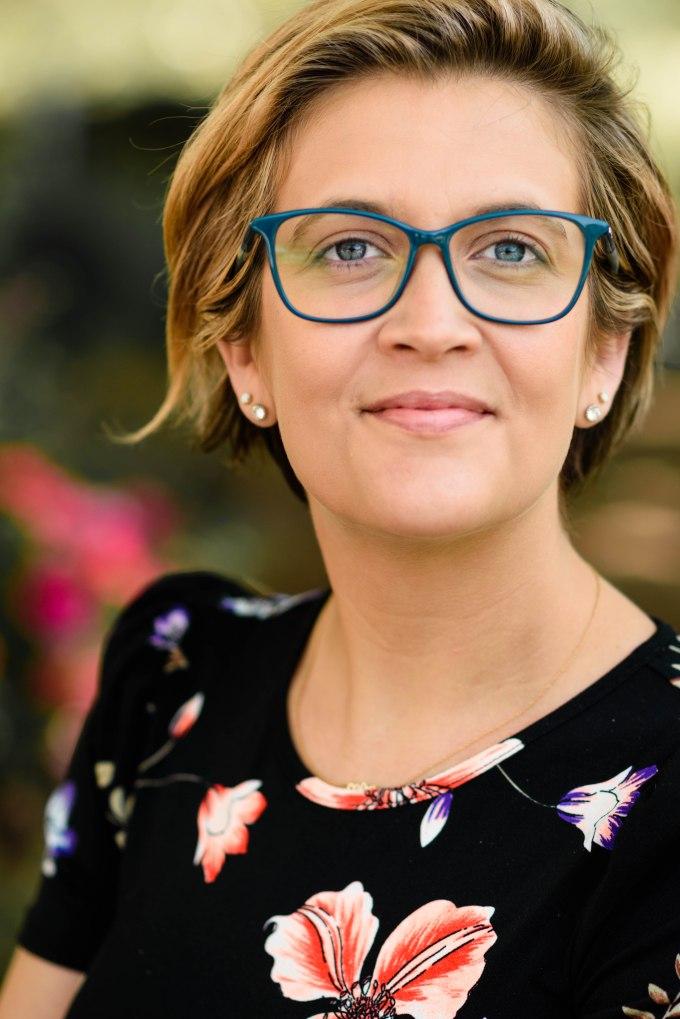 Corporate photography business portrait headshot Adobe woman