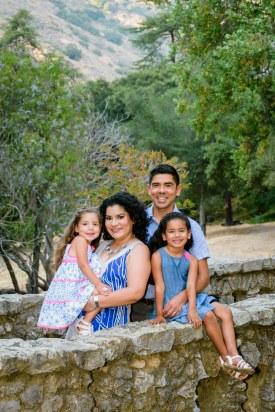 outdoor family photography san jose alum rock