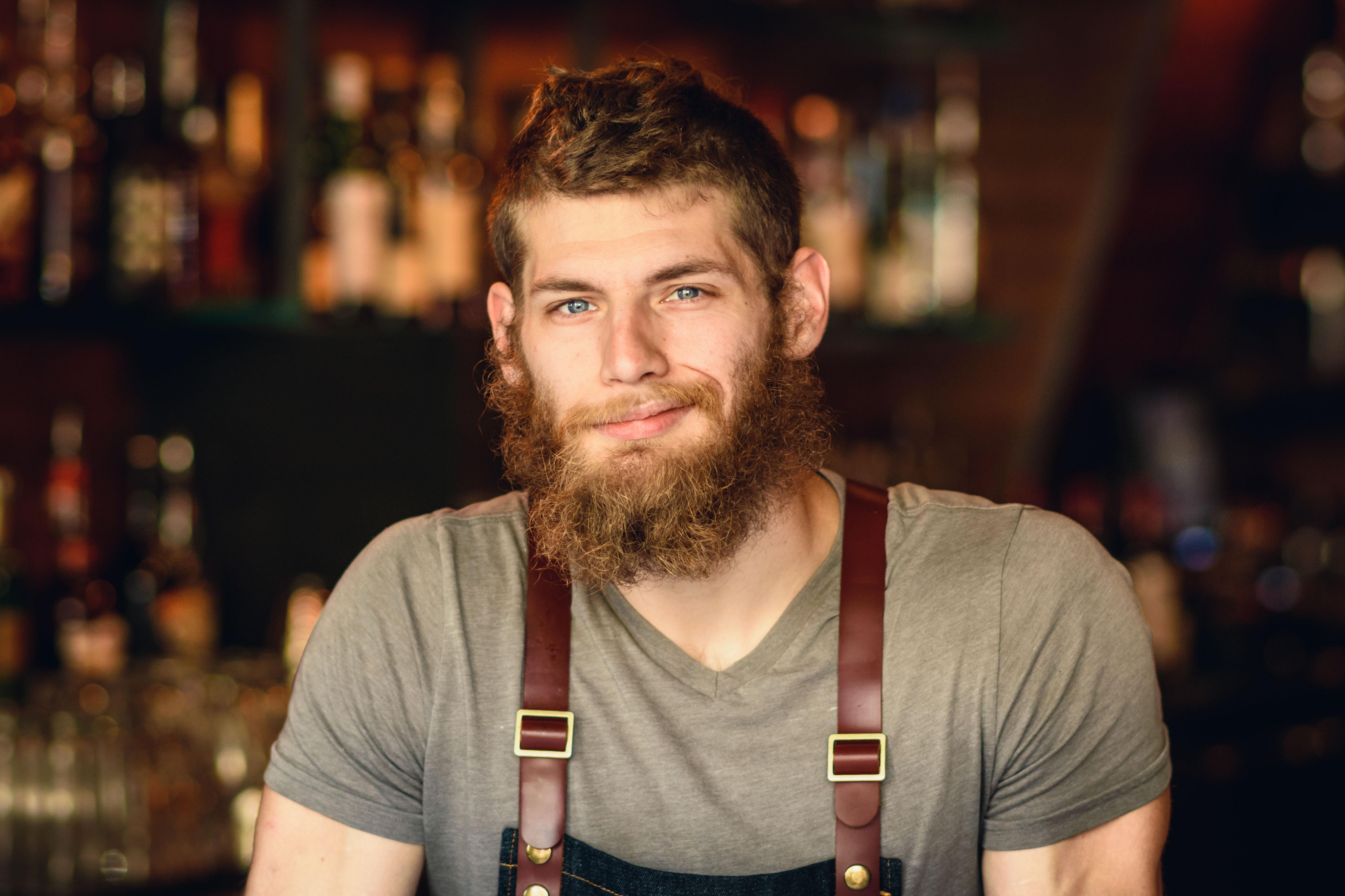 bay area corporate photographer photography redwood city san jose bartender portrait headshot creative candid