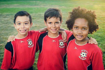 family photography bay area san jose kids soccer trace school
