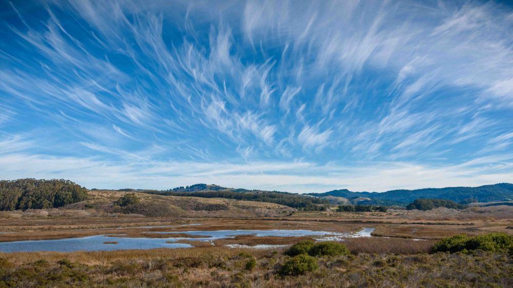 corporate family landscape photography bay area san jose pescadero clouds sky