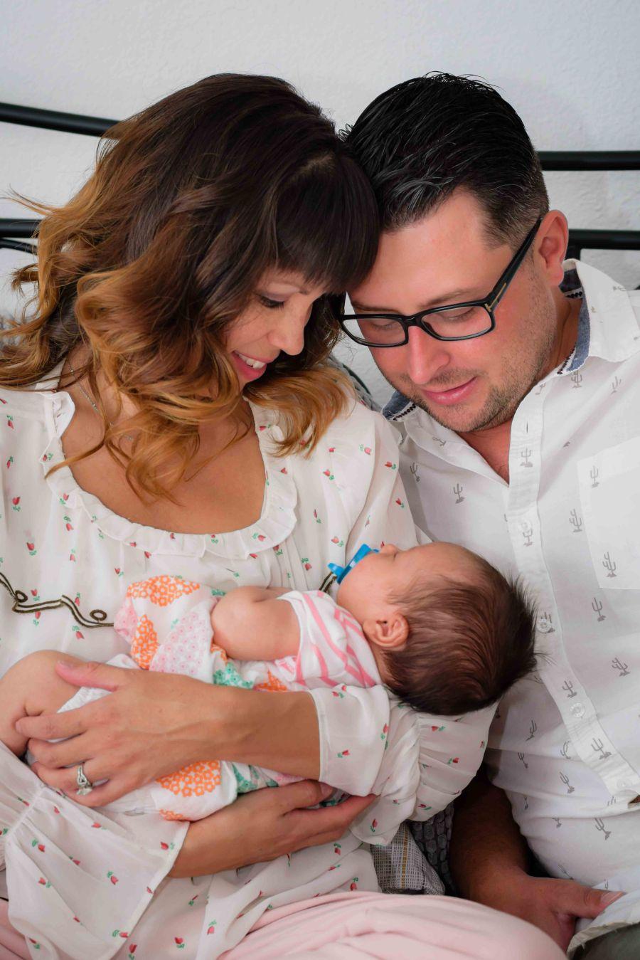 newborn family photography bay area san francisco san jose baby dad mom