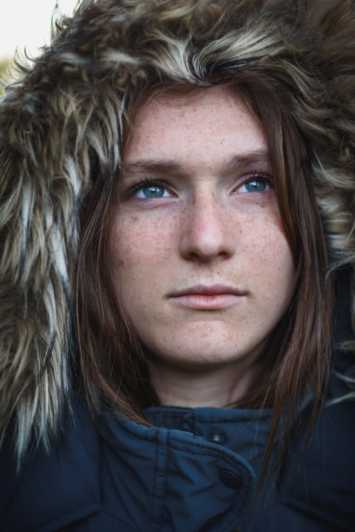 neilson family kids teens photography bay area photographer portrait headshot freckles eyes