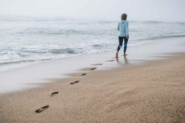 corporate portrait photography bay area half moon bay santa cruz healo ceo social media walking footprints