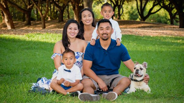 bay area family photography photographer photo session lahonda skylonda mountains palo alto redwood city menlo park portola valley tran pup