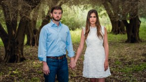 bay area photographer couples engagement photography olive grove expressionless