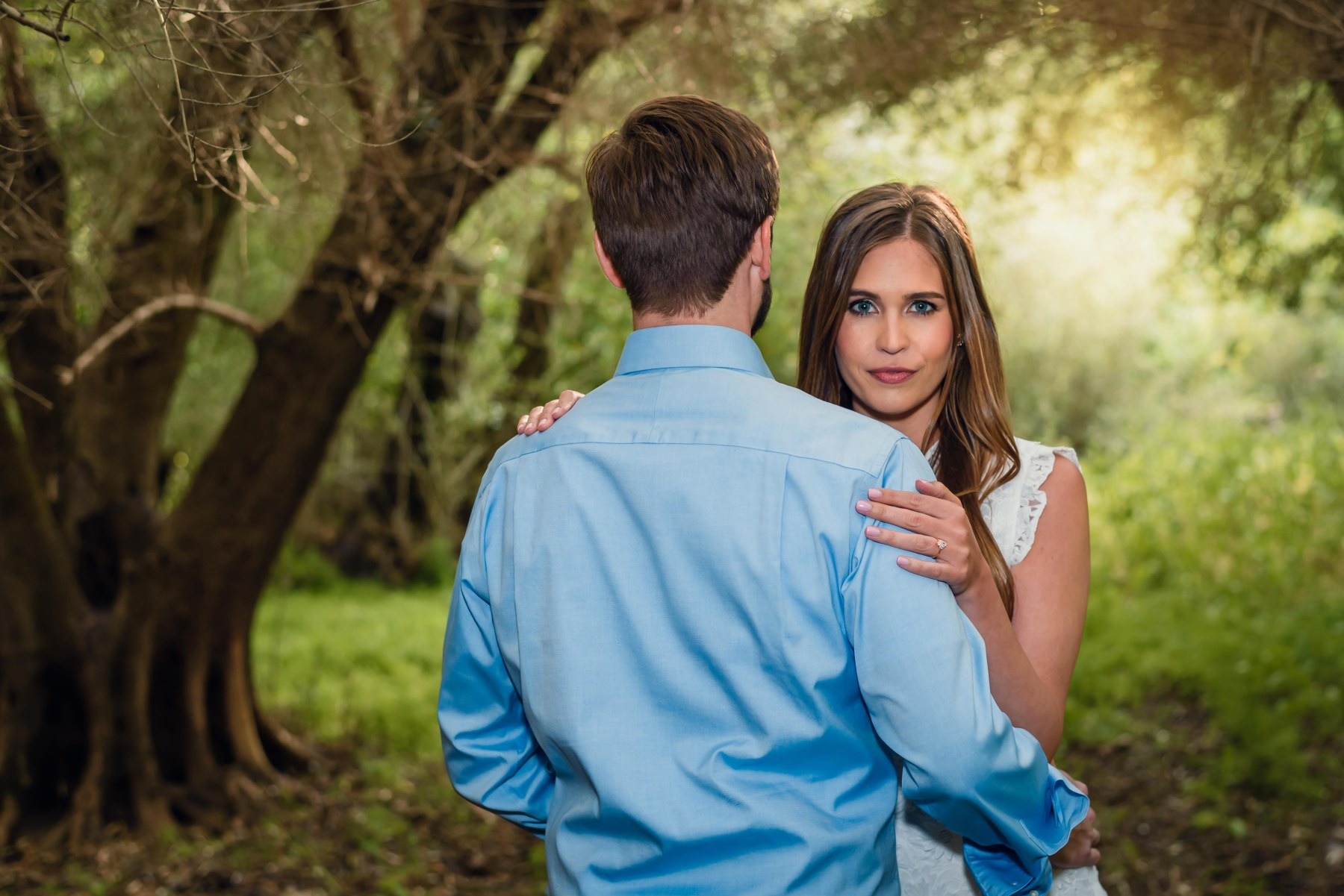 bay area photographer couples engagement photography olive grove sun light