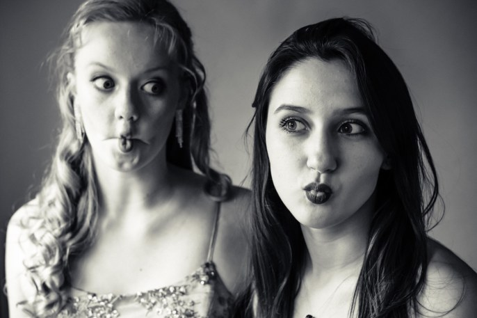 family teen prom graduation photography photographer portraits studio brown and blue eyes fish face black and white