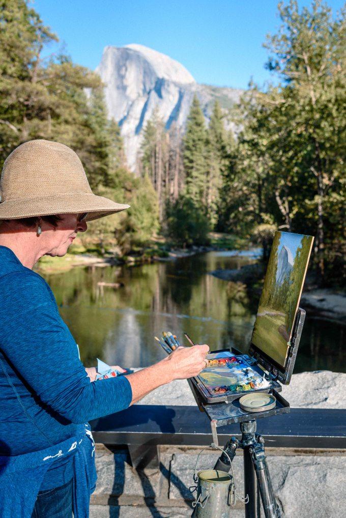 neilson travel landscape photography bay area photographer yosemite half dome painter