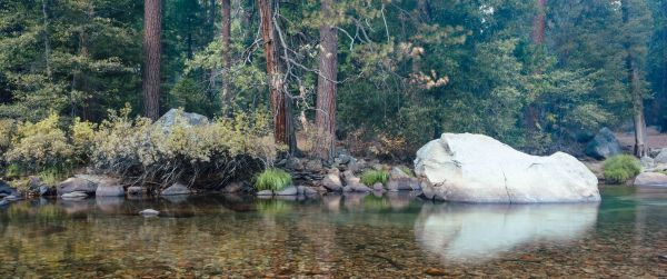 neilson travel landscape photography bay area photographer yosemite river boulder reflection