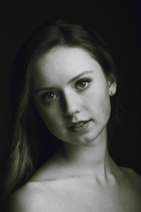 neilson fine art portrait photography bay area san jose new york ballerina headshot ballet bw