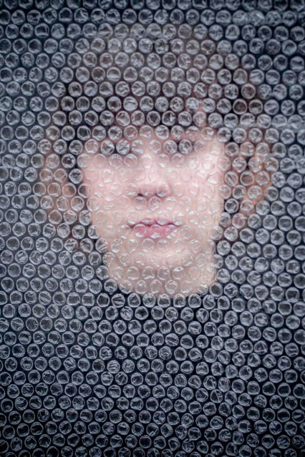 neilson photography bay area san jose covid-19 bubble wrap quarantine