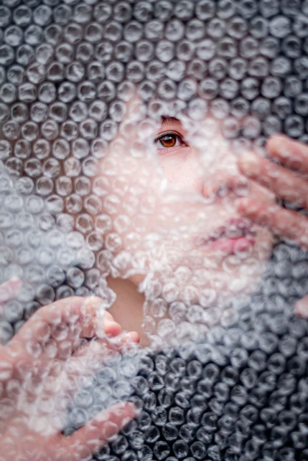 neilson photography bay area san jose covid-19 bubble wrap asphyxiation desperation