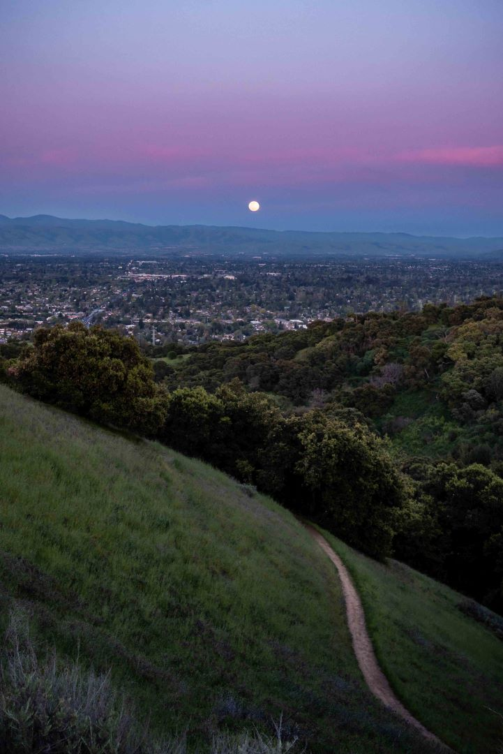 neilson landscape photography super pink moon cupertino fremont older