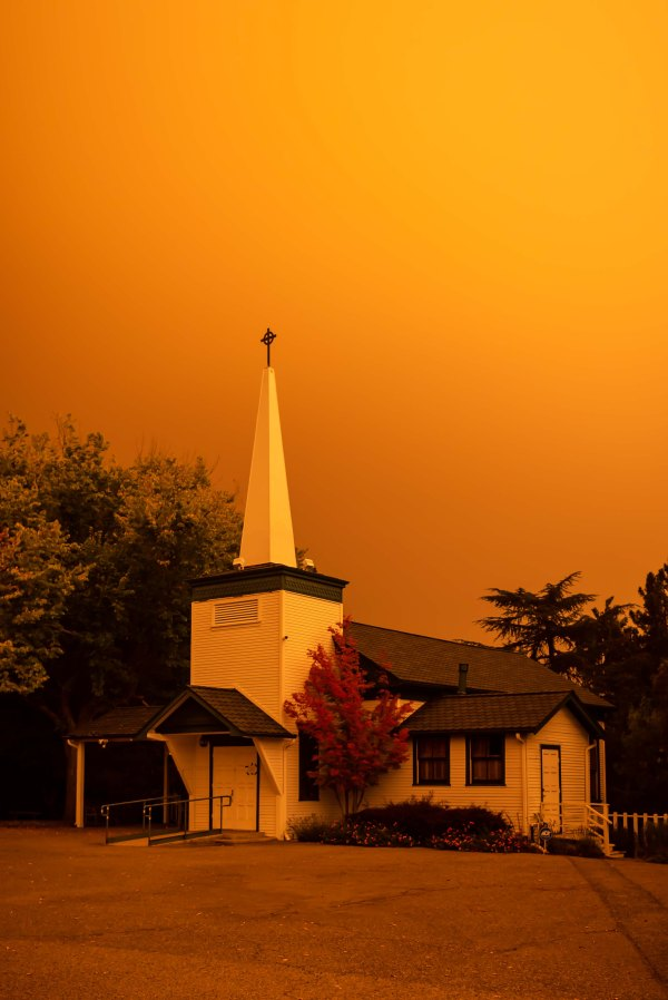 bay area fires los altos hills church