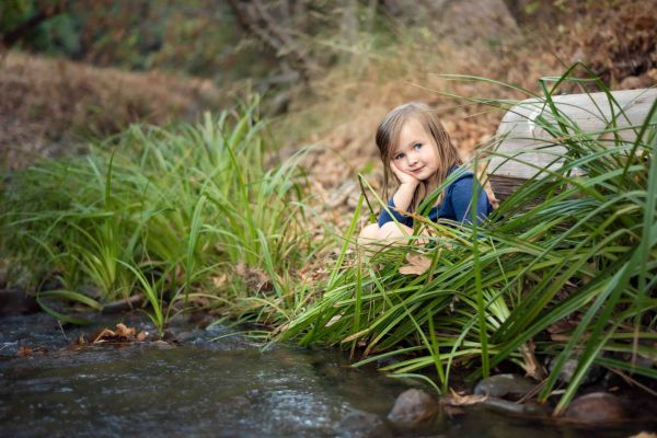 neilson kids family photography cupertino mcclellan ranch creek girl