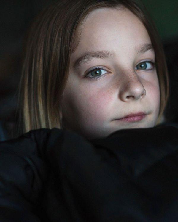 eyes freckles face light paige portrait photography