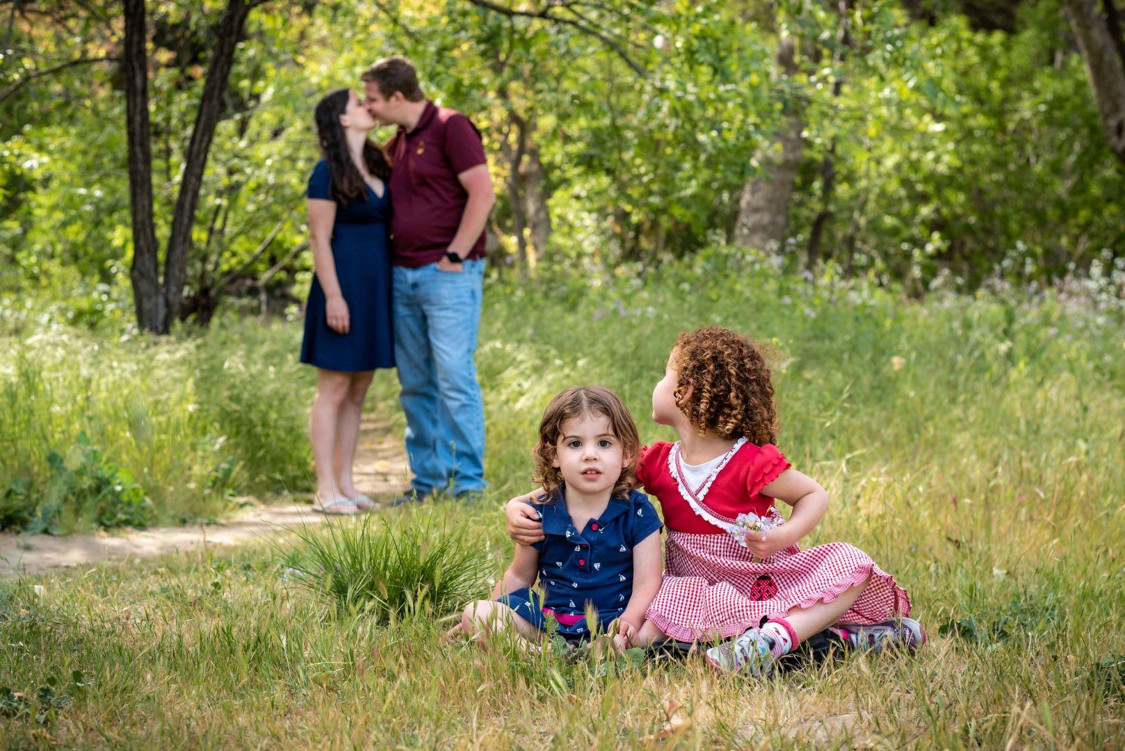 neilson family photography cupertino bay area mcclellan ranch kiss