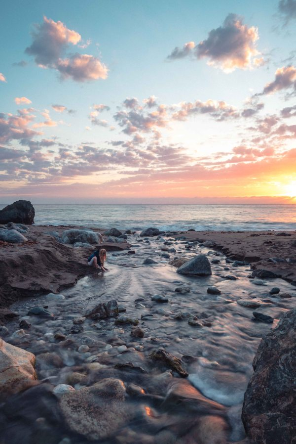 Neilson landscape photography california big sur hwy 1 limekiln state park hare creek pacific ocean sunset